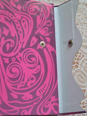 Дневник Виолетты с кнопкой 2