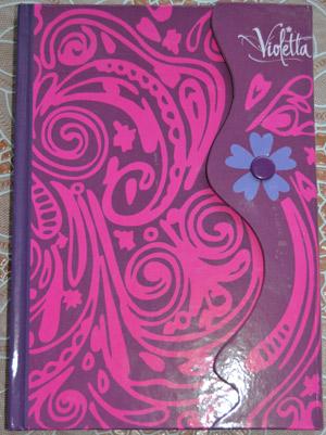 Дневник Виолетты с кнопкой 1