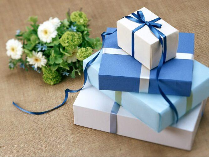 упаковки подароков