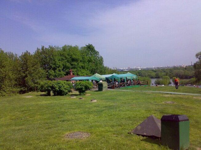 База отдыха в Коломенском