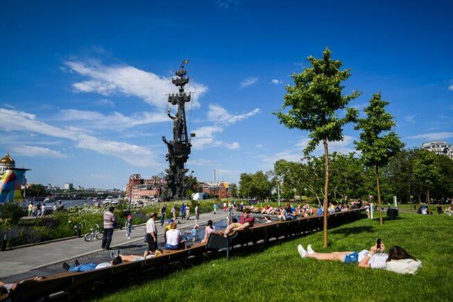 парк Музеон - достопримечательность Москвы