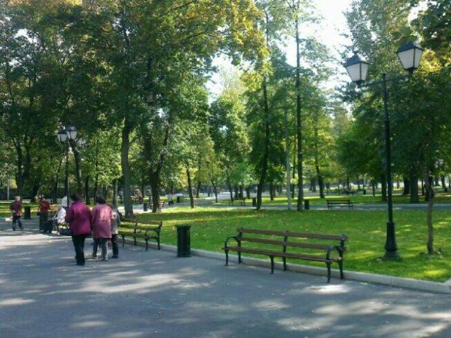 Парк «Таганский» в Москве