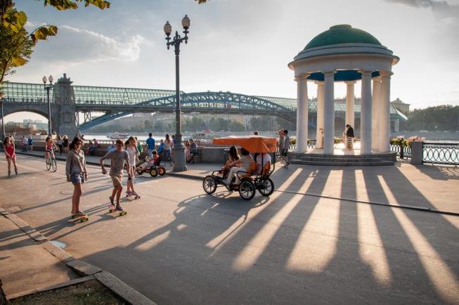 Столичный парк Горького