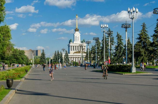 ВДНХ в самом центре столицы