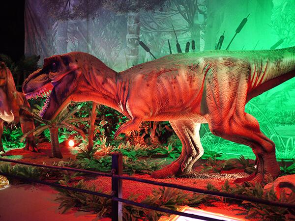 Город динозавров ВДНХ