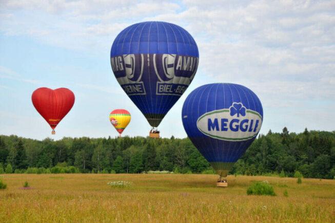 Полеты на воздушных шарах в Москве