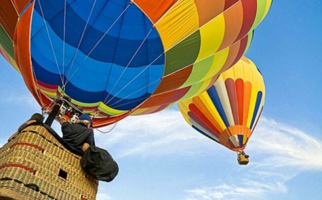 полет на воздушном шаре Прикоснись к небу