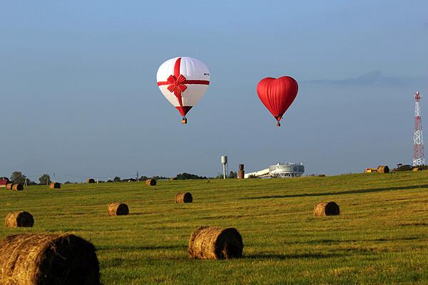 Полет на воздушных шарах от компании Воздухоплаватели