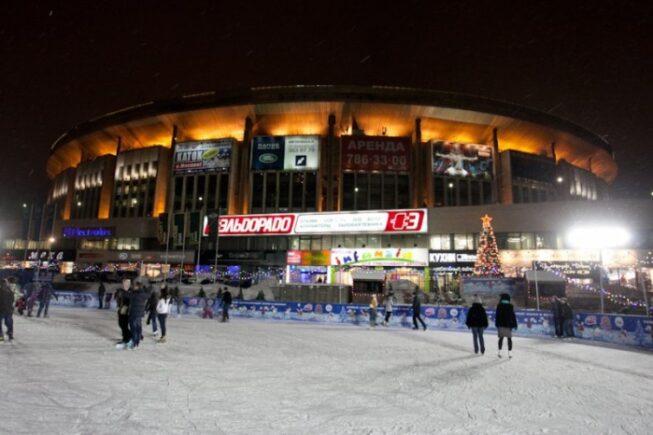 Ледовый каток Олимпийский в Москве