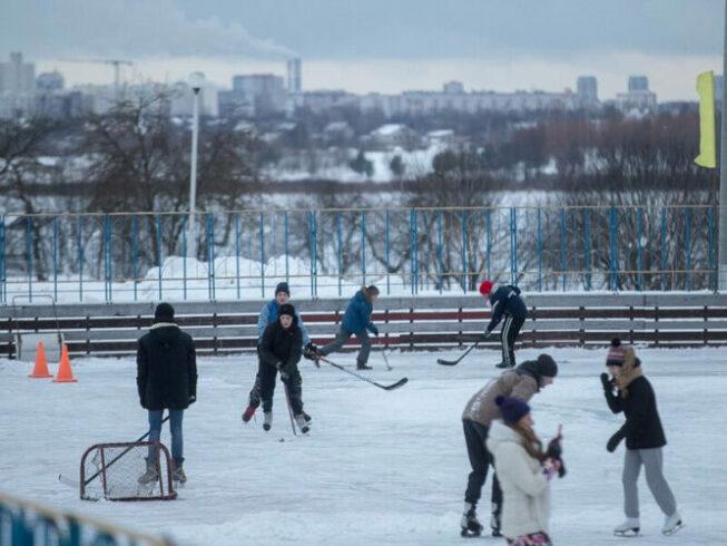 Каток Молния в Москве