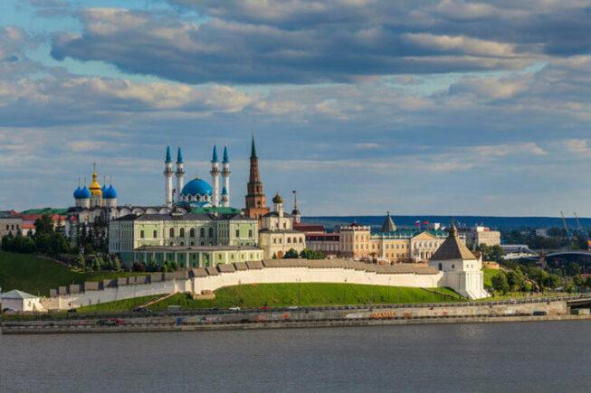 Казанский Кремль в столице Татарстана