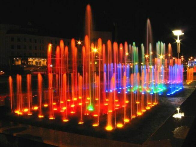 Площадь фонтанов в Казани