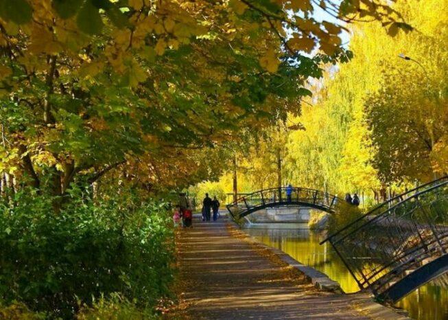 Парк Урицкого в Казани