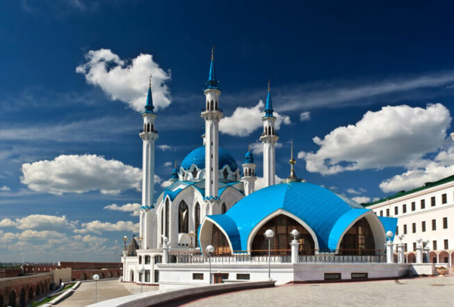 Мечеть Кул-Шариф на территории Кремля в Казани