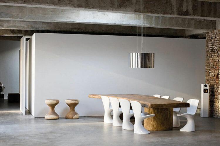 Необычный дизайн кухонных стульев